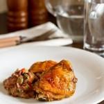 Курица, запеченная в травах и паприке