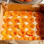 Бисквитный абрикосовый пирог1
