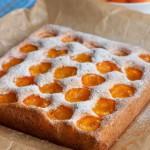 Бисквитный абрикосовый пирог2