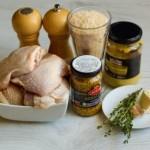 Куриные бедра с хрустящей горчичной корочкой3