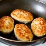 Куриные котлеты с грибами и сыром2