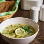 Суп из зеленых овощей с курицей4