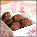 Шоколадно-ореховое печенье Поцелуй