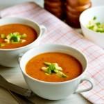 Острый суп-пюре из фасоли с авокадо3