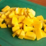 Тайский салат из манго и огурца3