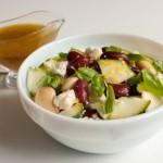 Фасолевый салат с цуккини и фетой3