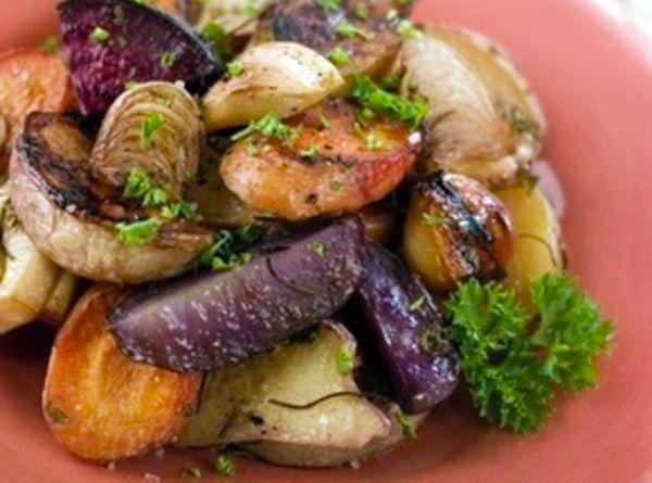 Ароматные запеченные овощи