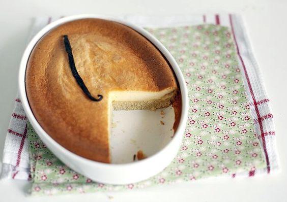 Сметанный пирог с ванилью