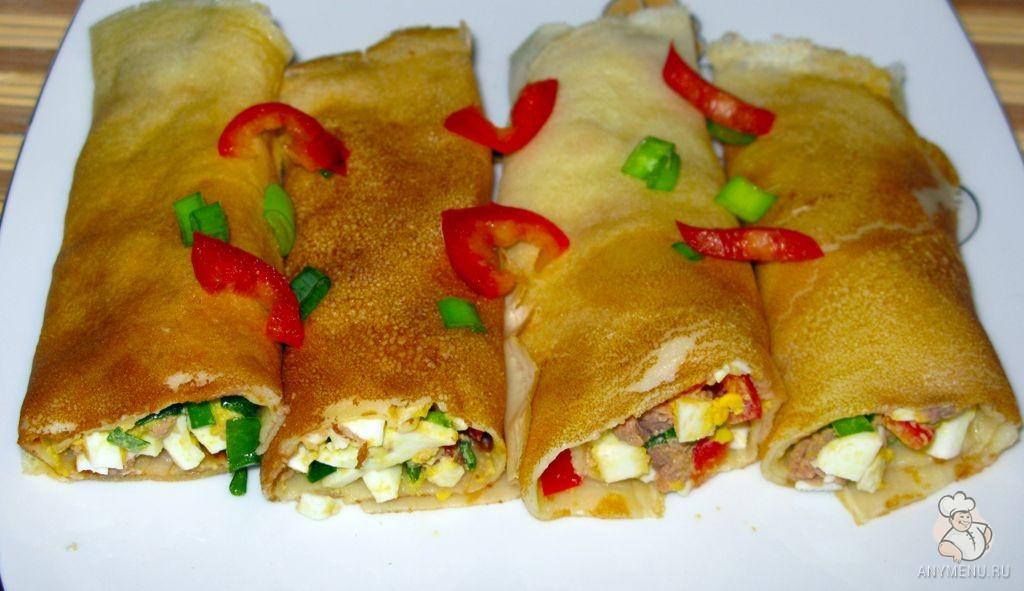 Блинчики с печенью трески (1)