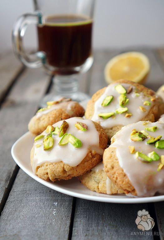 Лимонное печенье с фисташками1