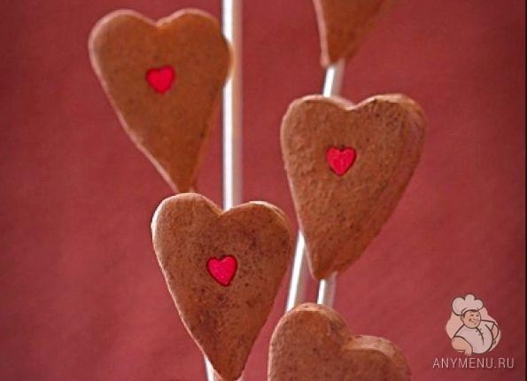 Марципановые сердечки