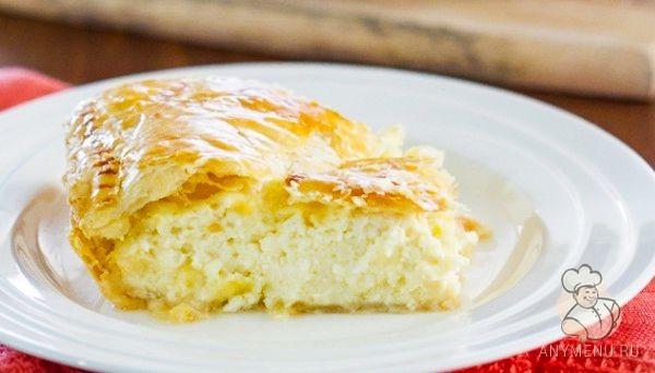 Греческий сырный пирог